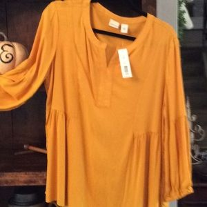 Westbound smock type blouse. Size Large NWT